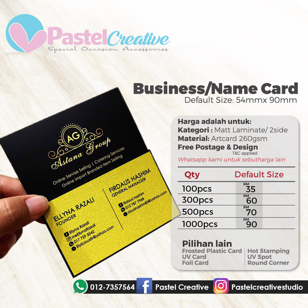 Pastel creative enterprise artcard matt laminate artcard matt laminate reheart Gallery