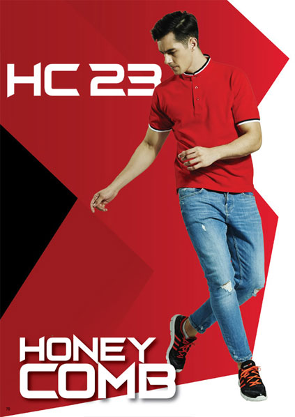 Honeycomb Orensport + sulam nama & logo