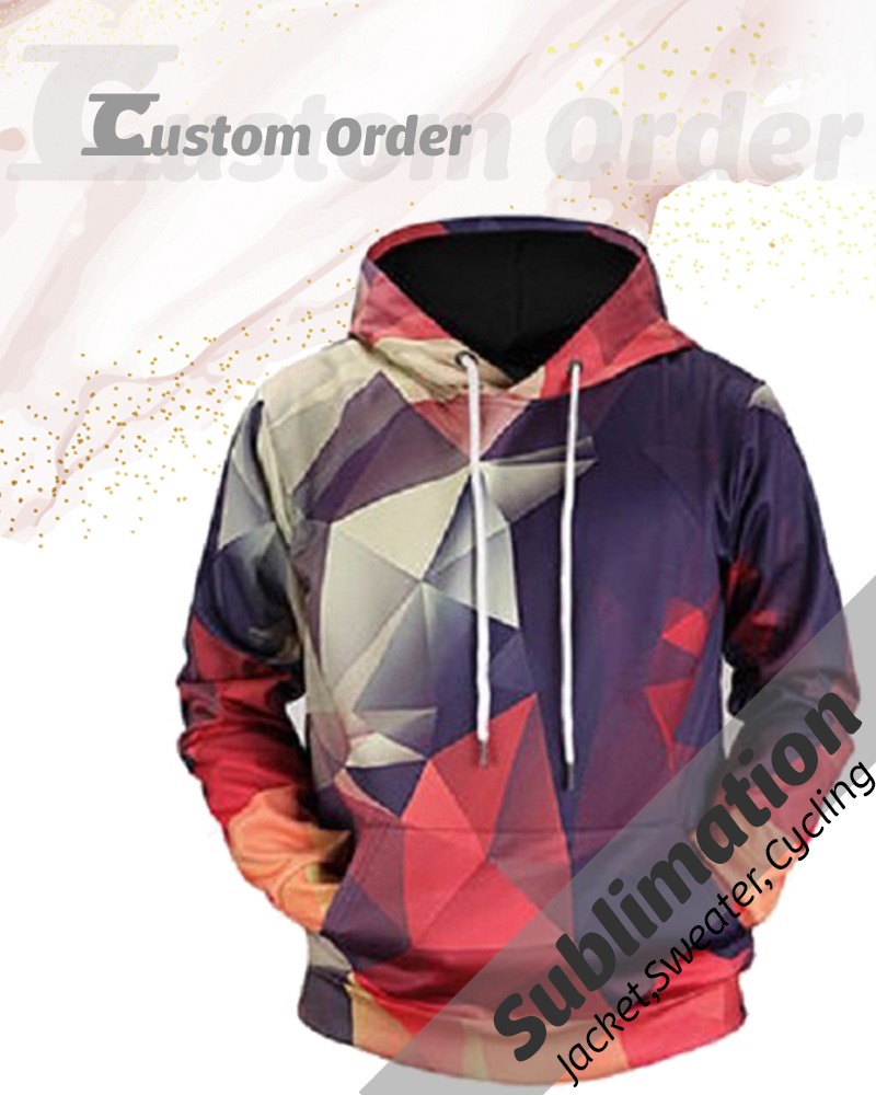 Sublimation - Jacket,Sweater, Cycling