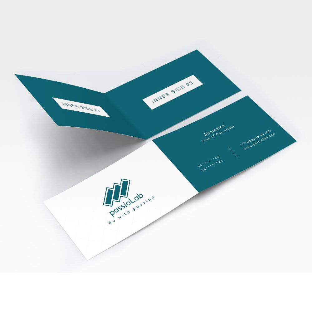 Fold (Thin) Business Card