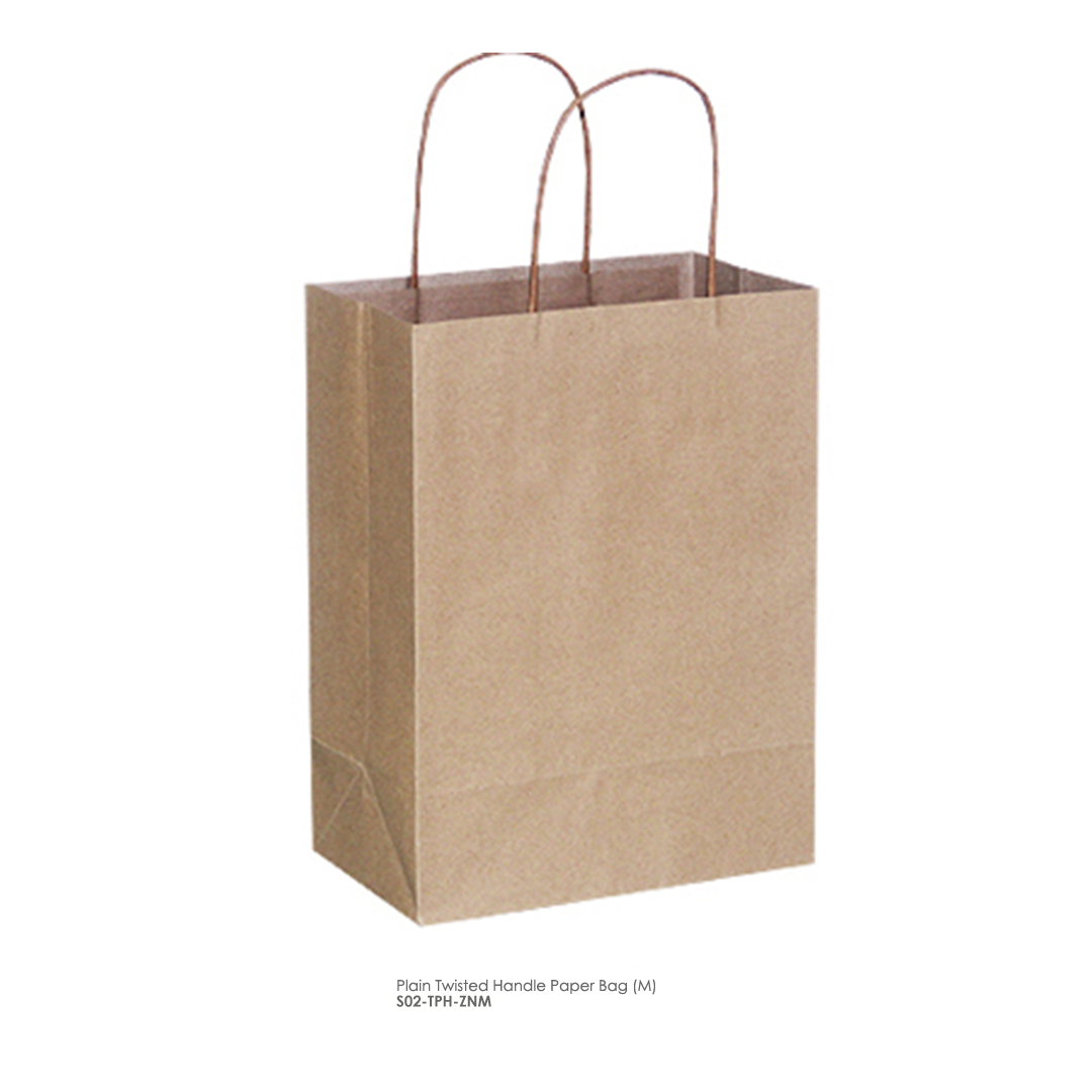 Paper Bags: Plain Recycle